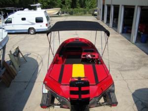 Custom boat interior