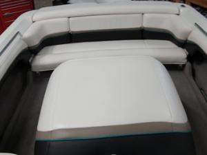 Ski boat interior