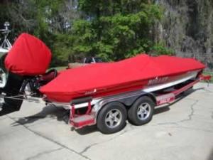 Custom boat cover - custom boat motor cover