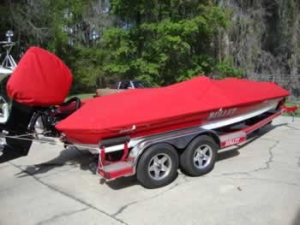 Custom boat cover - custom boat motor cover