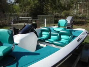 Bass Boat pholstery