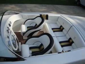 Alpha Z Custom Boat Seats
