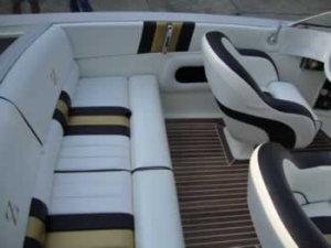 Alpha Z Boat Custom Interior