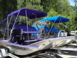 Custom Airboat Bimini