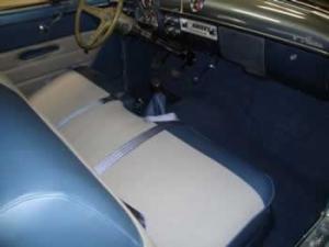 1952 Ford Crestliner original interior