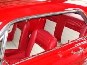 Pony interior reupholstery