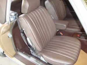 Mercedes reupholstery