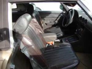 new car upholstery