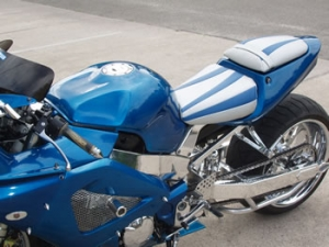 Show bike seats