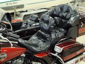 Custom Harley seat