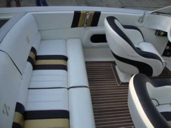Custom boat interiors at L&S Auto Trim